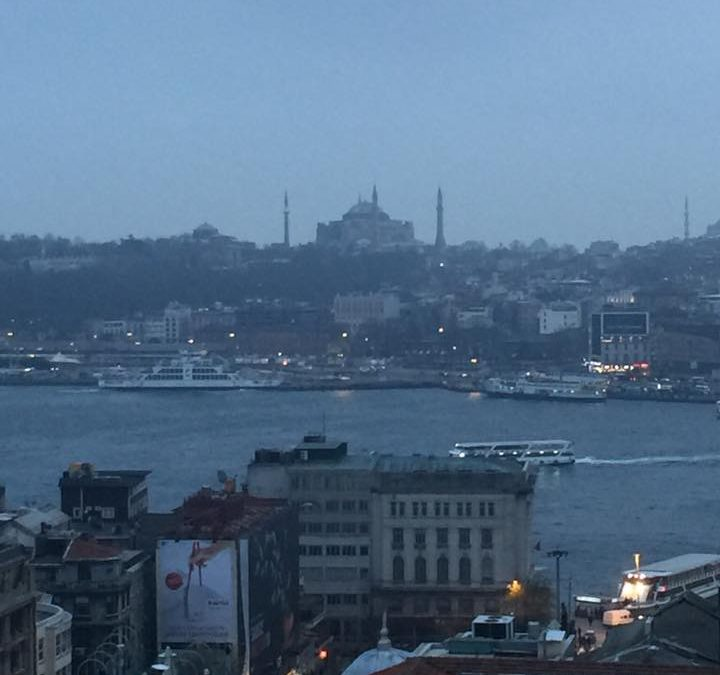 Delivering Storytelling Training in Istanbul